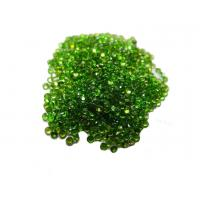 Buy cheap Russian Chrome Diopside Gemstones Natural Round For Gemstone Jewelry from wholesalers