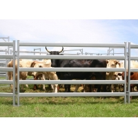 Buy cheap Portable 7ft Wide Metal Cattle Fence Panels Corrosion Resistant from wholesalers