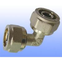 China compression brass fitting reduce elbow for PEX-AL-PEX on sale