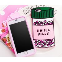 Buy cheap Chill pills love options silicone Case For iPhone 4 5s 6 plus 7 SAMSUNG s5 s4 S6 S7 NOTE 7 3 5 product