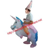 Buy cheap UNICORN Fancy Dress Inflatable Costume from wholesalers