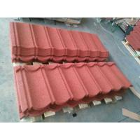 Buy cheap Roman Stone Coated Roof Tiles Galvalume Steel Roofing 1300x420mm from wholesalers