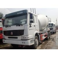 Buy cheap 7 - 16m3 Concrete Transport Truck , Mobile Cement Mixer Trucks For Construction Site from wholesalers