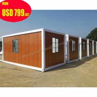 Buy cheap 20ft 40ft luxury prefab shipping container homes for sale in usa from wholesalers