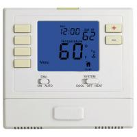 Multi Stage 2 Heat 2 Cool Electronic Room Thermostat Battery Operated