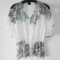 Buy cheap Placement Print Ladies Blouse from wholesalers