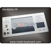 Metal Keyboard with Digital Keypad and Touchpad  for Industrial Instrumentation