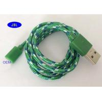 Buy cheap Type C Smartphone USB Cable Nylon Weaving Desert / Ocean Camouflage Data Cable product