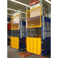 Buy cheap Double Cabin Construction Hoist Elevator And Lifting Equipment With 3 Level Speed / VFC Eletric Motor from wholesalers