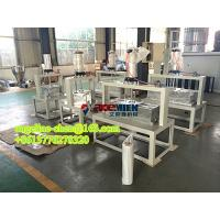 Buy cheap PVC corrugated glazed roof tile/ridge tile forming machine product