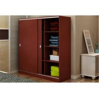 Buy cheap Custom Tall Wood Storage Cabinets With Doors And Shelves , Horizontal File Storage Cupboards from wholesalers