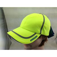 Buy cheap Racing Sport Dry Fit Mesh Running Hat Caps with Reflective Strip from wholesalers