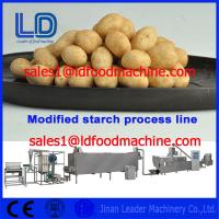Buy cheap Food grade Stainless Steel Automatic Modified Starch extrusion Machinery product