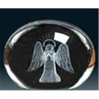 Buy cheap Crystal laser inside-engraving sculpture from wholesalers