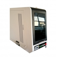 Buy cheap 20w 30w Mini Cabinet High Speed Raycus Fiber Laser Engraving Machine For Jewelry Pen Pigon Ring from wholesalers