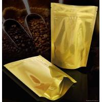 Buy cheap Laminated Coffee Plastic Packaging Bags Self-Standing , PET / AL / PE from wholesalers