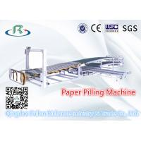 Buy cheap Double Layer Paper Piling & Stacking Machine For Paperboard Sheet Collecting from wholesalers