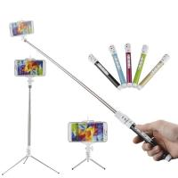 Buy cheap Bluetooh Monopod Bluetooth Remote Shutter Selfie Stick with Phone Holder Stand from wholesalers