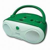 Buy cheap Boom Box MP3 + CD-R/CD Player with AM/FM 2-band Radio product