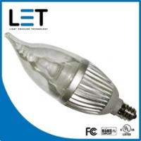 Buy cheap E12/E14 Base UL Diammable LED Candle Lamp from wholesalers