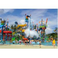 Buy cheap Holiday Resort Large Water Playground up to 2500sqm, Fiberglass Extreme Slide from wholesalers