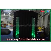 Buy cheap Black Outdoor Inflatable Photo Booth Wedding Wholse Photobooth Props Kiosk from wholesalers