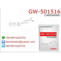 Buy cheap GW-501516 Cardarine SARMs Steroids For Losing Weight CAS 317318-70-0 from wholesalers