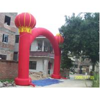 Buy cheap 420D Oxford Continuous Air Supplying Arch Inflatable Advertising Products For Drawing Attention from wholesalers