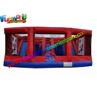 Buy cheap Funny Red EN71 Inflatable  Sports Games , Inflatable Twister Game for Rental from wholesalers