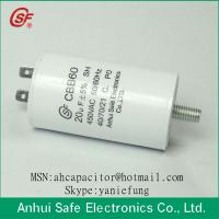 Buy cheap Round Plastic Case Film Capacitor CBB60 from wholesalers