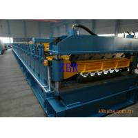 Buy cheap Chain Driving Double Layer Roll Forming Machine 1200 mm Coil Sheet Feeding product