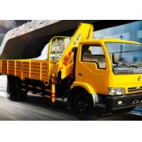 Buy cheap Durable 4 Ton Lorry Mounted Crane Architecture Truck ,Driven By Hydraulic from wholesalers