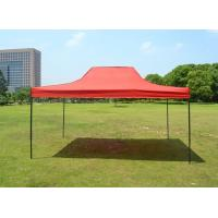 Buy cheap Red 420D Oxford Folding Steel straight leg Canopy Tent 10 x 15 ft For BBQs And Fetes from wholesalers
