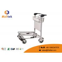Buy cheap Lightweight Airport Luggage Trolley Foldable Travel Passenger Airport Push Cart from wholesalers
