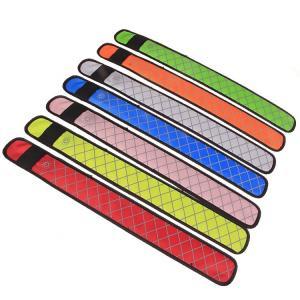 China Outdoor running sportsledslapbandreflective flashing wristband LEDSlap Armband Light up Wrap Bracelets on sale