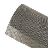 Buy cheap Anti Static Plain Woven Stainless Steel Wire Mesh For Electroplating Industry from wholesalers