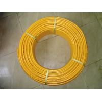 Buy cheap overlapped PE AL PE gas pipe,yellow color,black color from wholesalers