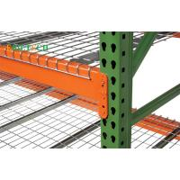 Buy cheap Metal Teardrop Pallet Rack Uprights , Selective Pallet Racking Systems America & Europe Style from wholesalers