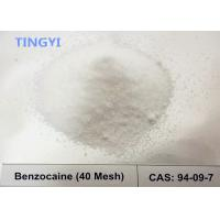 Buy cheap High Purity Local Anesthetic Pain Killer Powder  Drugs Benzocaine CAS 94-09-7 for Relieving Pain​ from wholesalers