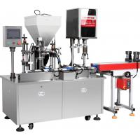 Buy cheap Automatic Straight Line Serum Emulsion Filling Line Packing Machine Processing Plant from wholesalers