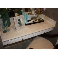 Buy cheap Dresser Table Artificial Stone Tops / Marble Bathroom Vanity Countertops For Sale  from wholesalers