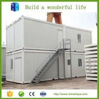 Buy cheap Prefabricated 20FT/40FT Expandable Cabin Flat Pack Container Shipping House Building from wholesalers
