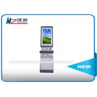 Buy cheap Dual Core Interactive Information Touch Screen Kiosk , Interactive Wayfinding Kiosk With Keyboard from wholesalers