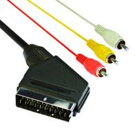 Buy cheap scart cable nickel-plated product