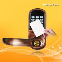 Buy cheap Dual Anti Theft RFID Card Door Lock 4.8V-6.5V 12-18 Months Power Lifetime from wholesalers