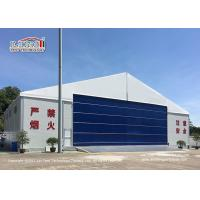 Buy cheap 30M Temporary Outdoor  Aircraft Airplane Hangar Tent with Hard Wall from wholesalers
