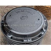 Buy cheap WEIGHT 16.5KG  MANHOLE COVER 2.5 TONNE ROUND CAST IRON 450MM DIAMETER FROM CHINA from wholesalers