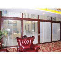 Buy cheap Security Powder Coated Sliding Doors , Aluminium Laminated Glass Sliding Door from wholesalers