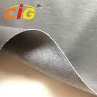 Quality Car / Sofa Seat Cover Pu Synthetic Leather 1.0mm Thickness 65% Pu 35% Polyester for sale