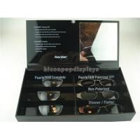 Buy cheap Black Acrylic Sunglasses Display Case Countertop Visual Glasses Store Display Showcase from wholesalers